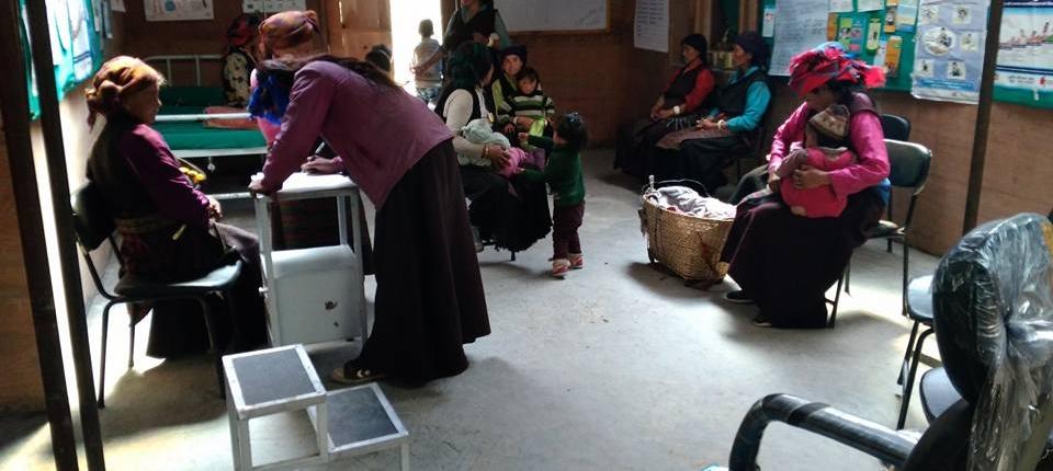Gesundheitsposten & Geburtenklinik Lar